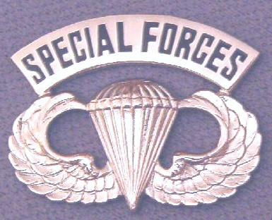 Airborne Wings basic SPECIAL FORCES arch bfcb $6.85