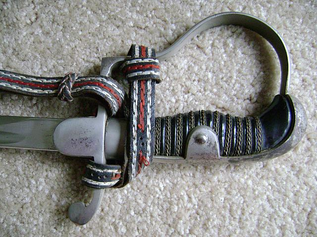 Nazi, SS Horse Mounted troops saber for sale $500.00