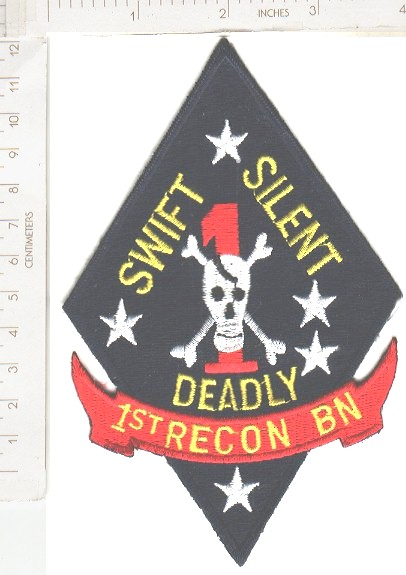 USMC 1st RECON Swift Silent Deadly ce ns lg $5.49