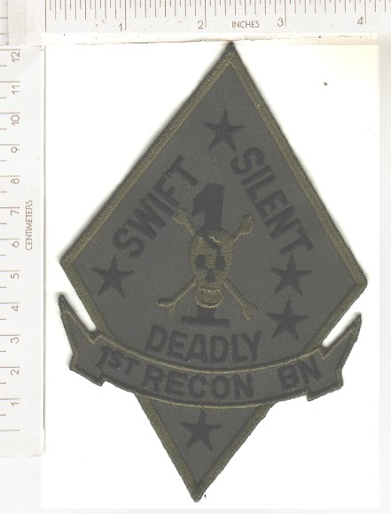 USMC 1st RECON Swift Silent Deadly ce ns sub 8.00