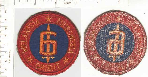 USMC 6th Marine Div. KOREA era ce ns $6.00