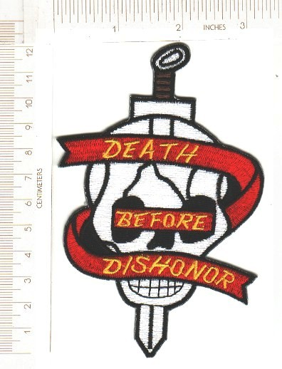 USMC Death Before Dishonor ce ns $4.00