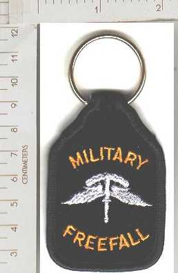 Key Ring Military Freefall HALO