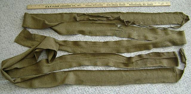 WW1 Uniform wool leg wraps (pair) $20.00