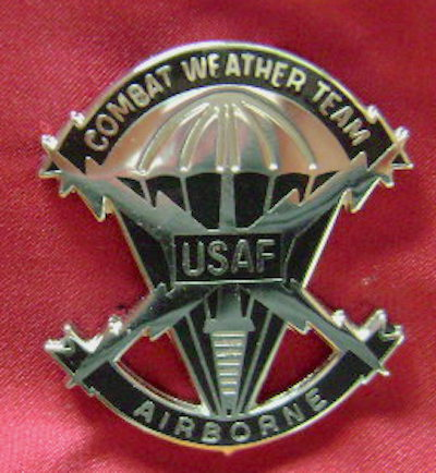 USAF Combat Weather badge (scarce) Airborne cb bf $20.00
