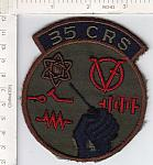 35th Component Repair Sq ce ns $2.50