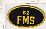 62nd Field Maintenance Sq oval me ns $3.00