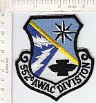 552nd AWAC DIVISION (larger size) ce ns $5.00
