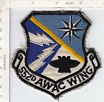 552nd AWAC WING (larger size) ce rfu $3.00
