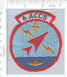 6th Airborne Command Control Sq ACCS ce ns $5.00