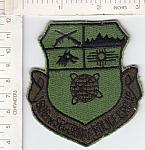 1606th Security Police Grp green ce ns $1.50