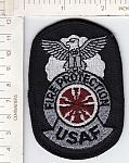 Air Force Fire Protection cloth badge me ns $3.00