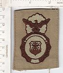Air Force Security cloth badge dsrt ce ns $3.00