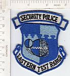 Security Police Eastern Test Range ce ns $6.00