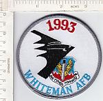 1993 Whiteman AFB Air Combat Cmd. me ns $3.00