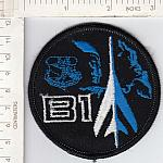 B-1 blue & black me ns $3.00