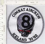 Combat Aircrew 8 Iceland '91-92 me ns $3.00