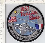B-1B  Paris Air Show 1987 me ns $5.00