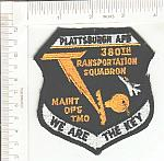 380th Transportation SQ Plattsburg AFB ce ns $5.00