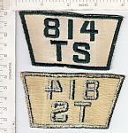 814th TS-Transportation Sq ce ns oldie $4.99