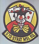 570th Strategic Missile Sq me ns $3.25