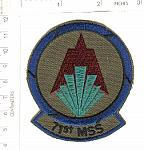 71st Missile Support Sq ce ns $3.00