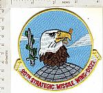 90th Strategic Missile Wing DO22 ce ns $3.25