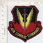 Air Combat Cmd red ce ns $3.00