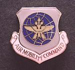 USAF small Air Mobility pin cb $4.00