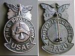 USAF Fire Protection Badge sob obs $20.00