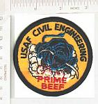 USAF Civil Engineering PRIME BEEF color me ns $3.00