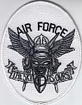 "USAF patch Afghanistan ""The Sky Is Ours"" $4.99"