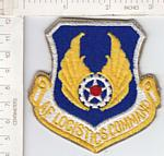 AF Logistics Command yellow 3.5 inch ce ns $4.00