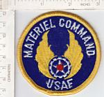 Material Command USAF round me ns $3.25