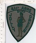 41st Air Rescue & Recovery Sq ms ns $9.50