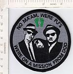 No Ma'am We're PJS On A Mission From DOD me ns (round) $4.99