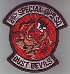 USAF 21st Special OPS SQ DUST DEVILS me ns $5.49