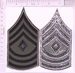 Army and Air Force chevrons FOR SALE