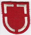 20th Egr Bde beret flash pre 1988 ce ns $7.50