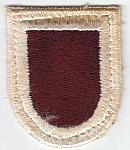 407th Medical Bn beret flash ce rfb $2.00
