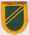11th M.P. Bde beret flash ce ns obs $7.50