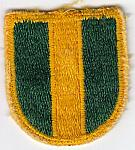 16th M.P. Bde beret flash ce rfb $2.00