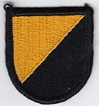 Ranger Instructor beret flash (black edge) me ns $5.00