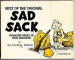 Best of the Original SAD SACK 1978 pb $7.00
