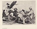 The Disasters of War by De Goya SAMPLE ETCHING