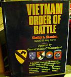 Vietnam Order of Battle by Shelby Stanton dj hc $225.00