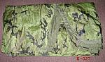 Army Camouflaged Poncho Liner used $ 16.00