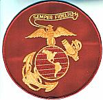 USMC Eagle Globe Anchor (red) me ns $6.50