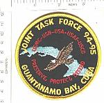 Joint Task Force 94-95 GITMO ns me $3.00