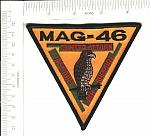 MAG-46 Marine Aircraft Group ns me $3.50